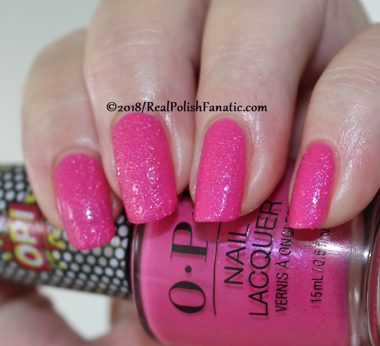 OPI - Pink Bubbly - Summer 2018 Pop Culture Collection (4)