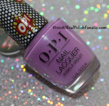 OPI - Pop Star // Summer 2018 Pop Culture Collection