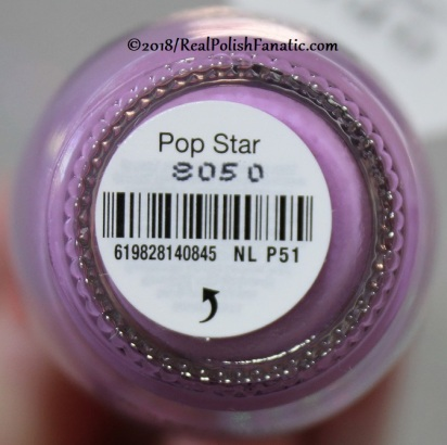 OPI - Pop Star NL P51 // Summer 2018 Pop Culture Collection