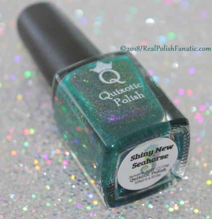 Quixotic Polish - Shiny New Seahorse // Color of the Month January 2018
