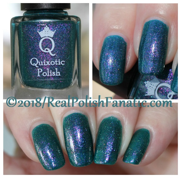 Quixotic Polish - Shiny New Seahorse -- COTM January 2018