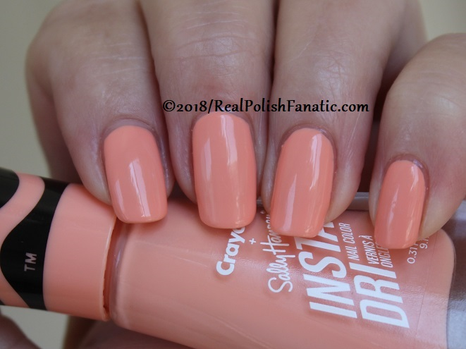 Sally Hansen - Melon -- Summer 2018 Crayola Collection (11)