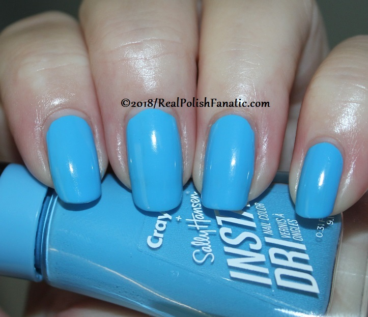 Sally Hansen - Sky Blue -- Summer 2018 Crayola Collection (1)