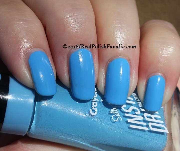 Sally Hansen - Sky Blue -- Summer 2018 Crayola Collection (9)