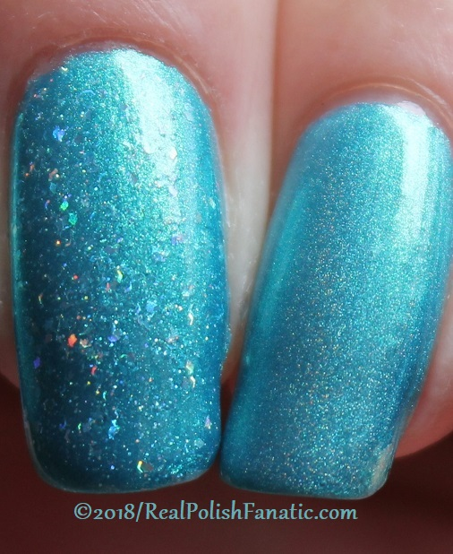 Comparison -- Geekish Glitter Lacquer - Prototype 010 vs Mrs. Peacock (5)