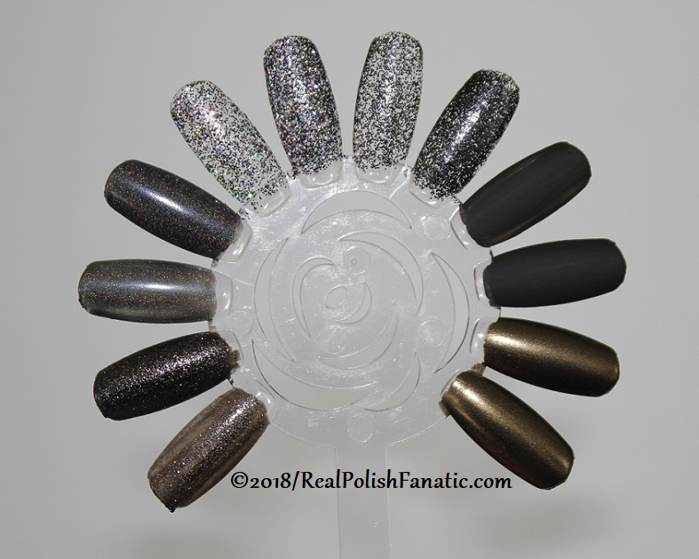 China Glaze Paint It Black Collection - Halloween 2018 (15)