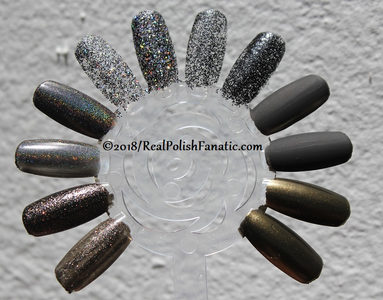 China Glaze Paint It Black Collection - Halloween 2018 (18)