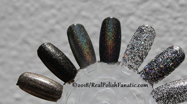 China Glaze Paint It Black Collection - Halloween 2018 (19)