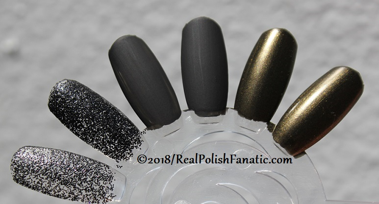 China Glaze Paint It Black Collection - Halloween 2018 (20)