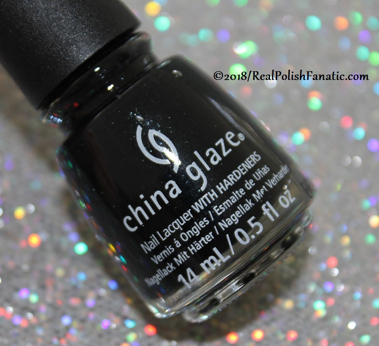 China Glaze Paint It Black Collection - Halloween 2018 (9)