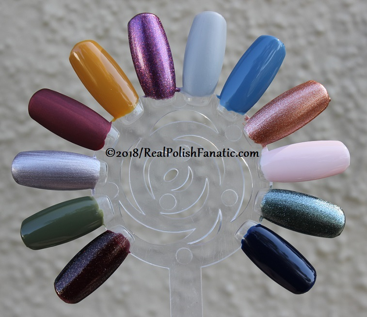 China Glaze - Ready To Wear FW 2018 --- 2 coats (4)