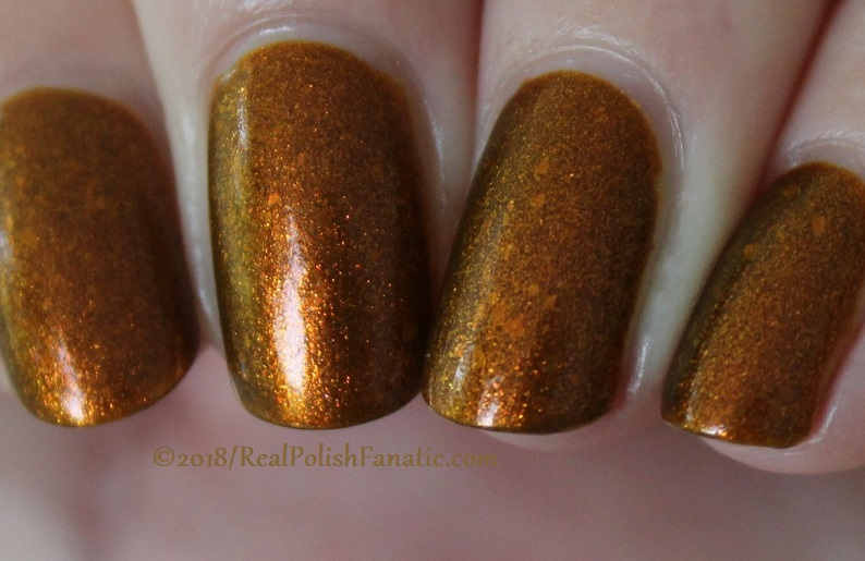 Geekish Glitter Lacquer - The Lion -- Zodiac Series Leo - July 2018 (31)