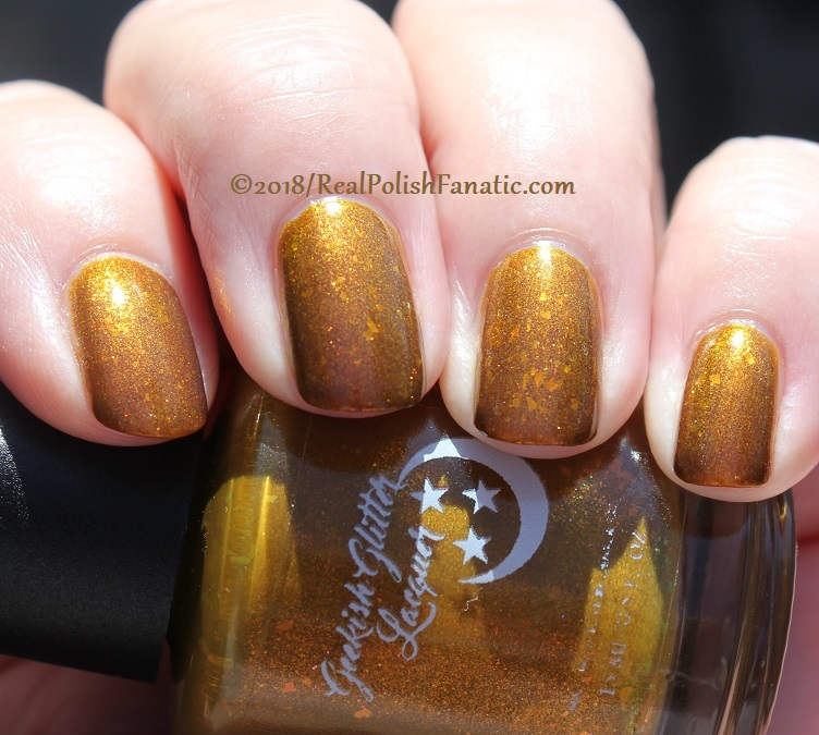 Geekish Glitter Lacquer - The Lion -- Zodiac Series Leo - July 2018 (52)