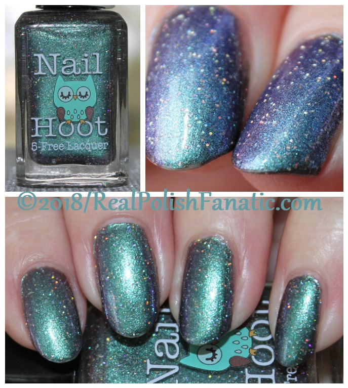 Nail Hoot - Whooo Wants Cake -- 2016 One Year Anniversary Duo