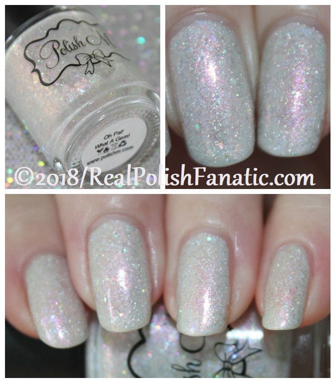 Polish 'M - O Pal What A Gem -- January 2018 Polish Pickup Crystals & Gemstones JPG