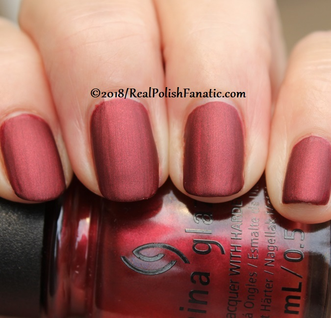China Glaze - Haute Blooded -- Ready To Wear FW 18 Collection (12)