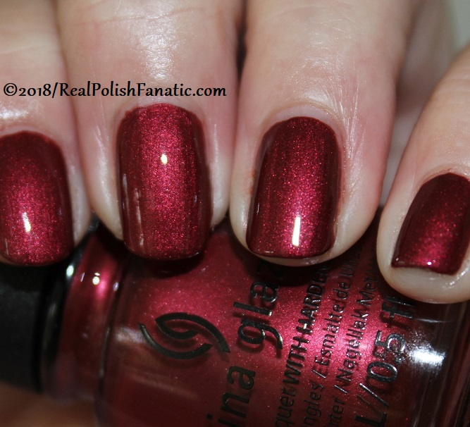 China Glaze - Haute Blooded -- Ready To Wear FW 18 Collection (13)