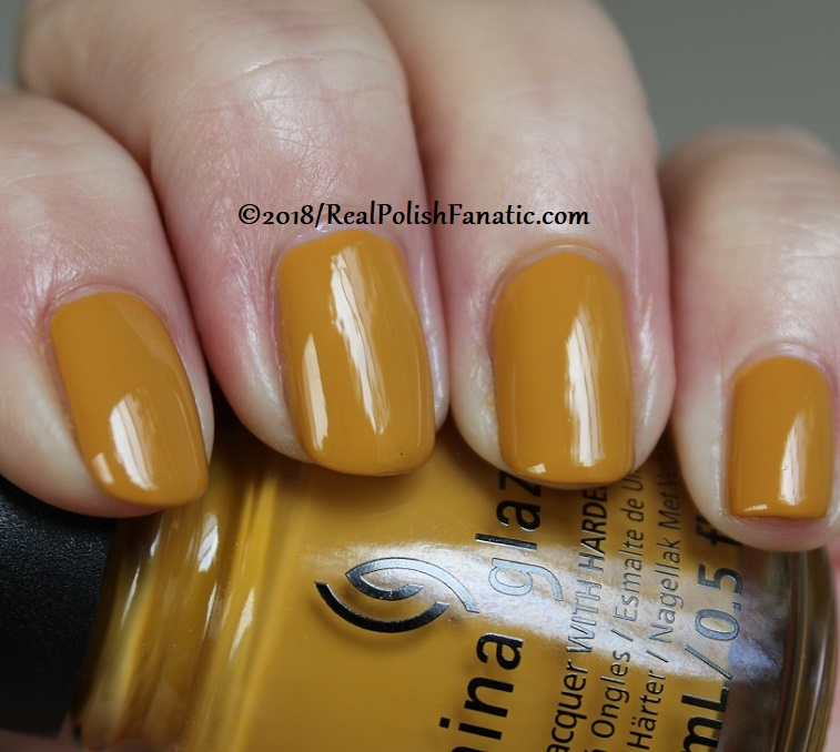China Glaze - Mustard the Courage -- Ready To Wear FW 18 Collection (10)