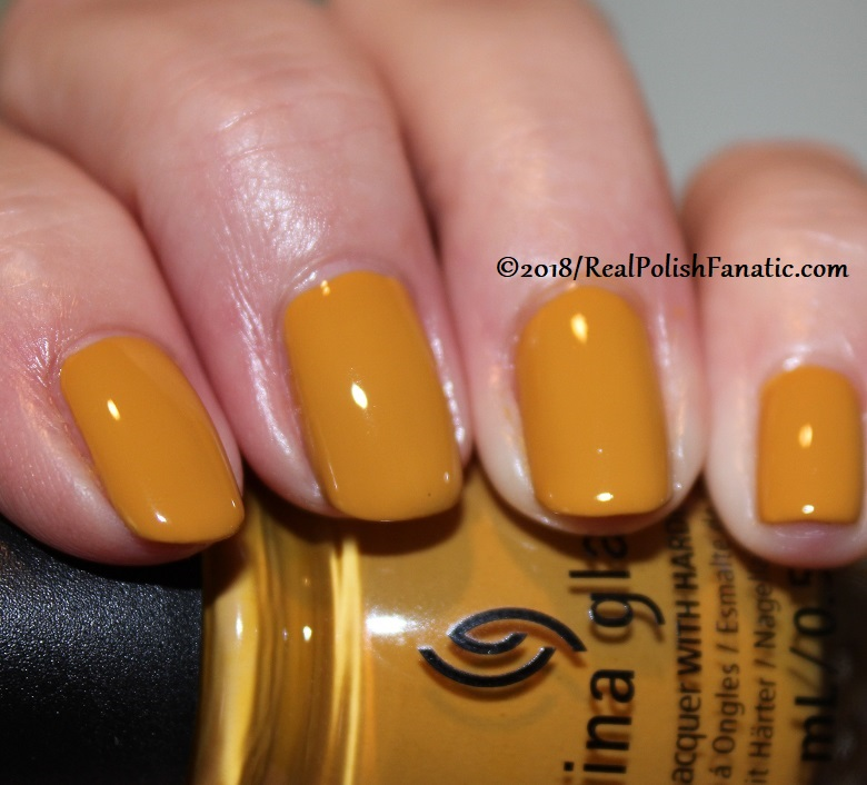 China Glaze - Mustard the Courage -- Ready To Wear FW 18 Collection (2)
