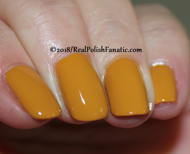 China Glaze - Mustard the Courage -- Ready To Wear FW 18 Collection (6)
