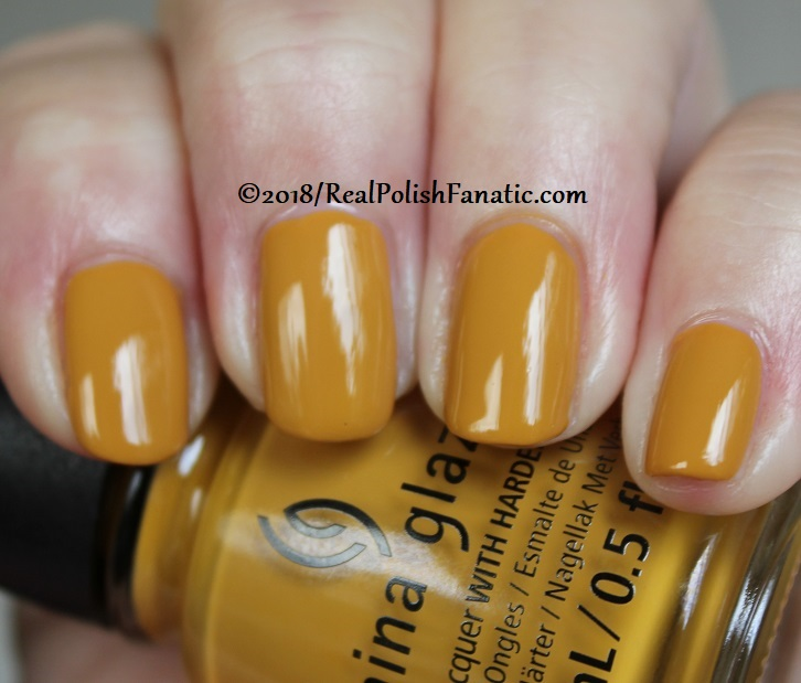 China Glaze - Mustard the Courage -- Ready To Wear FW 18 Collection (9)