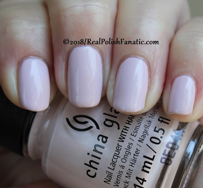 China Glaze - Throwing Suede -- Ready To Wear FW 18 Collection (5)