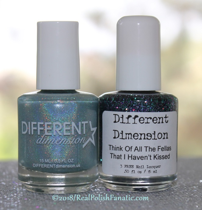 Different Dimension Enchant-mint & Think Of All The Fellas I Haven't Kissed