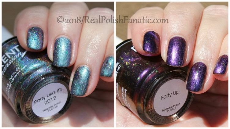 Different Dimension Nail Polish - 6th Anniversary Duo