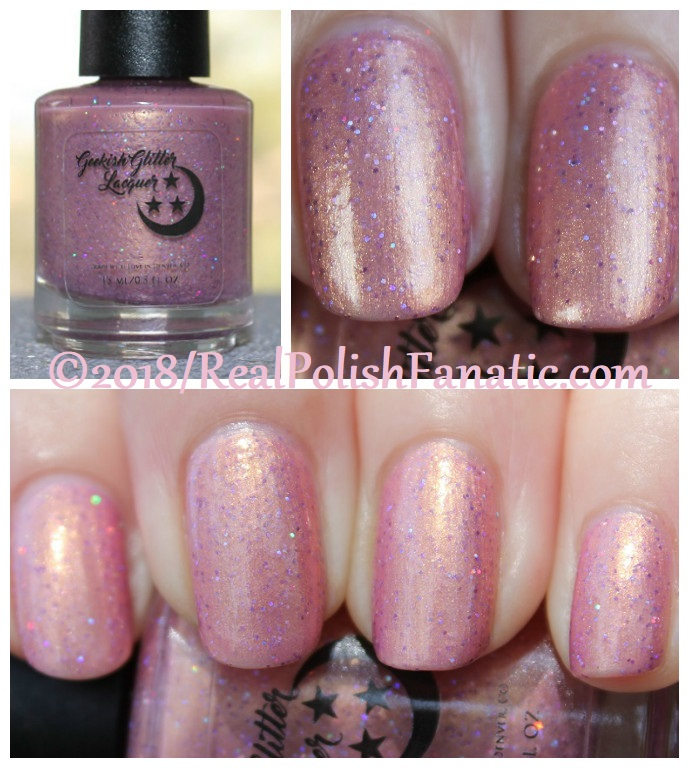 Geekish Glitter Lacquer – The Virgin -- AugSept 2018 Zodiac Series Virgo