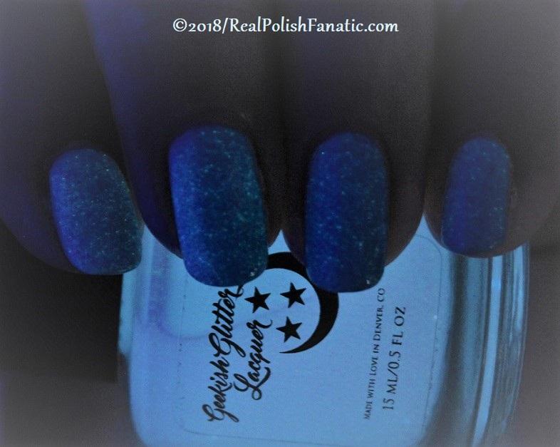Geekish Glitter Lacquer - Air GITD Topper -- Libra Zodiac Series (1)