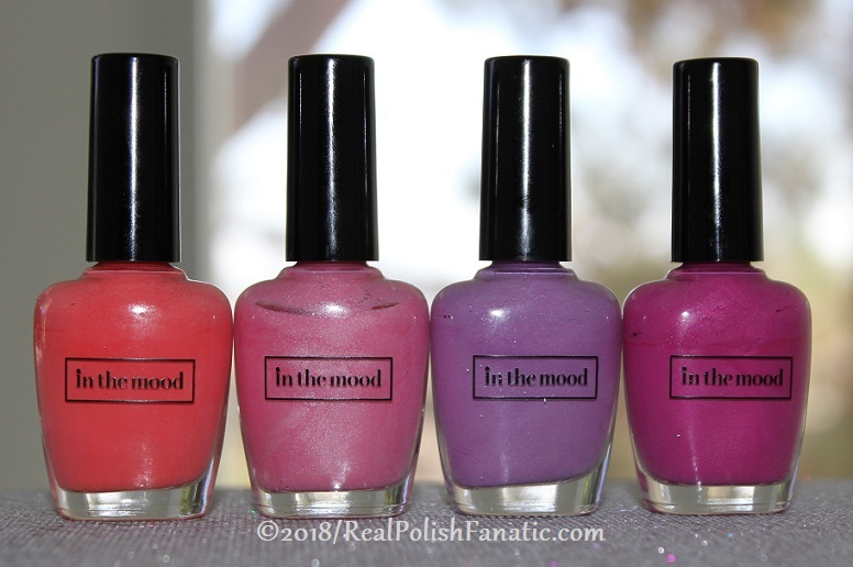 In the Mood Polish - Hyper, Blissful, Devious, Ditsy --Thermals (1)