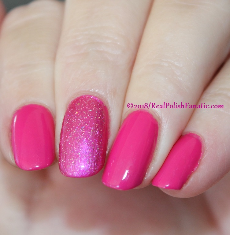 OPI 50 Is the New Fabulous with 1850 Artisan Polish Hollywood accent (11)