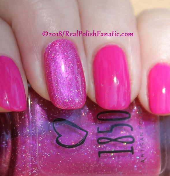 OPI 50 Is the New Fabulous with 1850 Artisan Polish Hollywood accent (15)