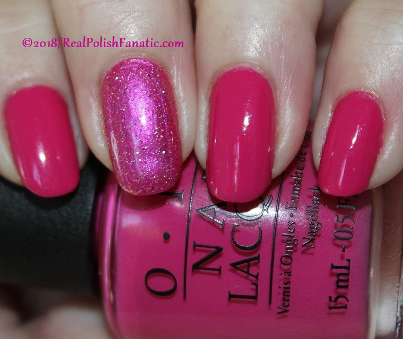OPI 50 Is the New Fabulous with 1850 Artisan Polish Hollywood accent (3)