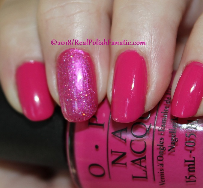 OPI 50 Is the New Fabulous with 1850 Artisan Polish Hollywood accent (4)