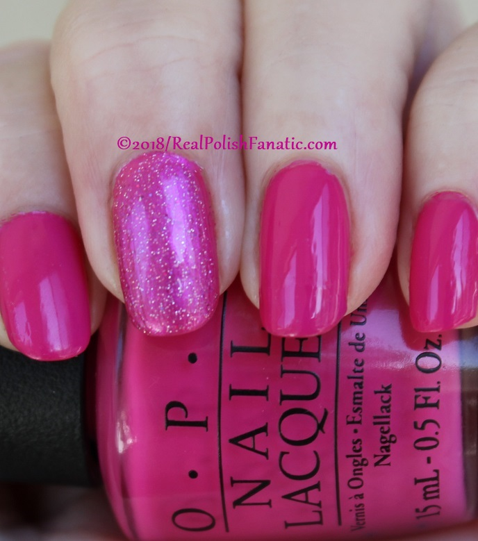 OPI 50 Is the New Fabulous with 1850 Artisan Polish Hollywood accent (7)