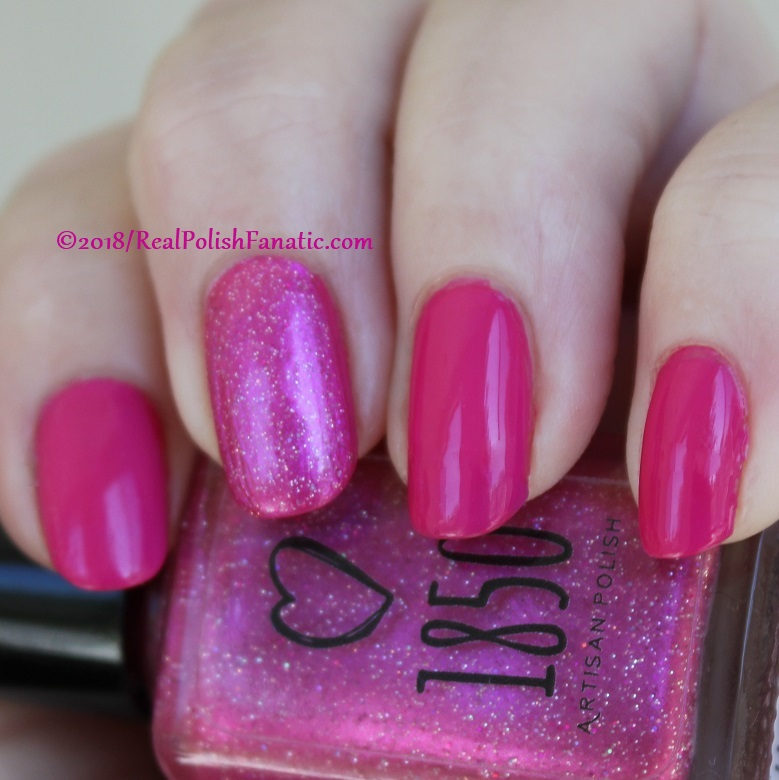 OPI 50 Is the New Fabulous with 1850 Artisan Polish Hollywood accent (8)