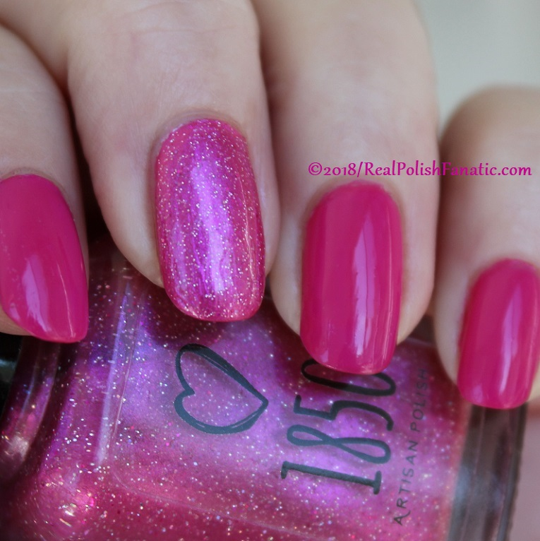OPI 50 Is the New Fabulous with 1850 Artisan Polish Hollywood accent (9)