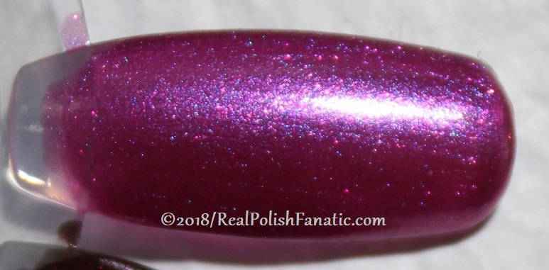 OPI - Berry Fairy Fun -- Holiday 2018 Disney's The Nutcracker and the Four Realms Collection (5)