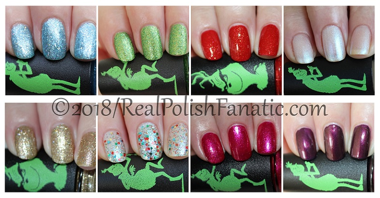 China Glaze - Grinch Collection -- Holiday 2018 (2)