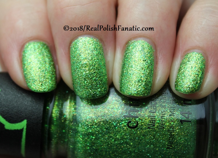 China Glaze - Grinchworthy -- Holiday 2018 Grinch Collection (2)