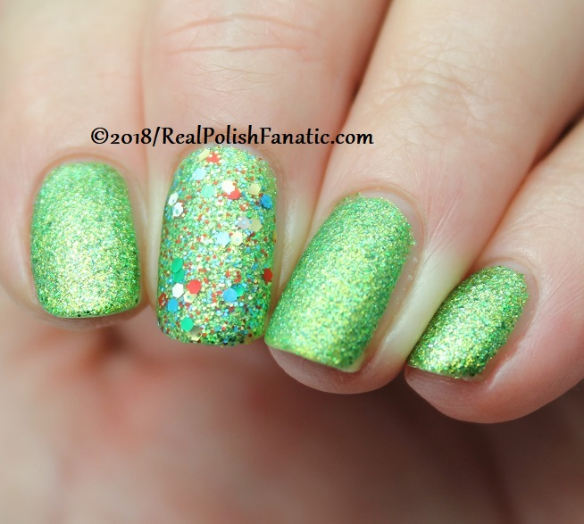 China Glaze - Resting Grinch Face -- Holiday 2018 Grinch Collection