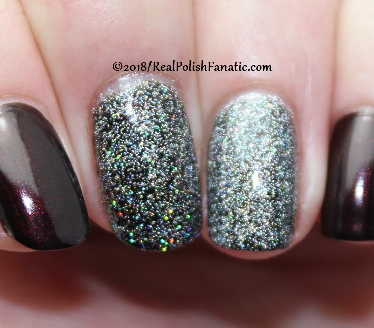 Comparison -- Revlon Holographic Pearls vs OPI Tinker, Thinker, Winker (2)
