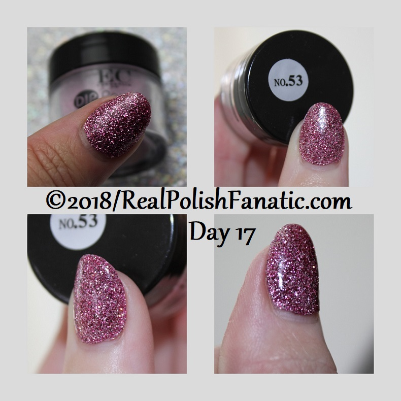 EC Cosmetics - DIP Powder System - No 53 -- Day 17