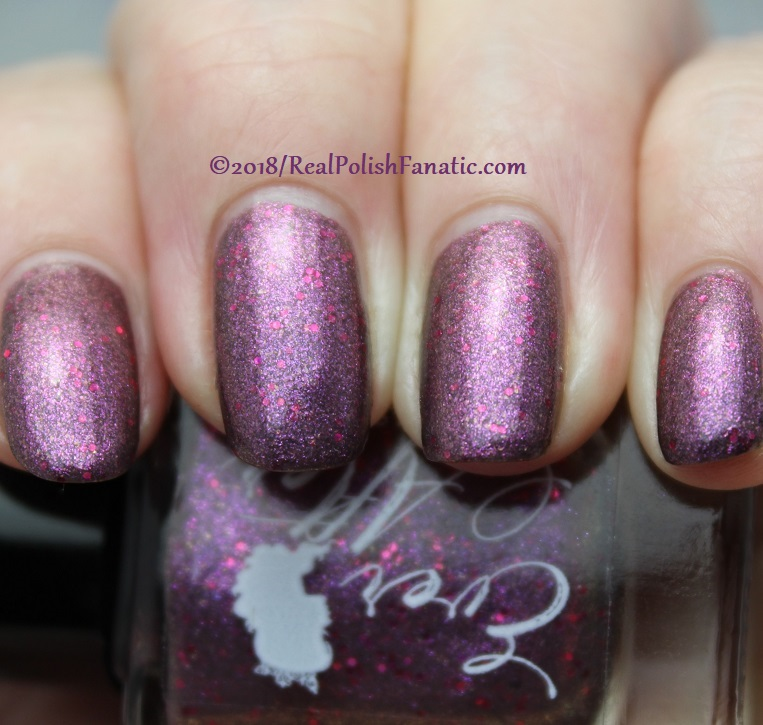 Ever After Polish - Overcome Through Courage & Strength -- October 2018 Annual Breast Cancer Awareness Box (10)