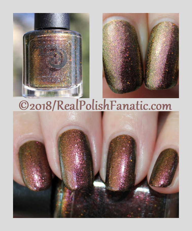 Geekish Glitter Lacquer - The Scorpion -- Zodiac Series Scorpio October 2018.1