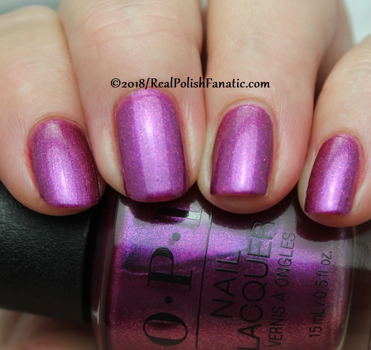 OPI - Berry Fairy Fun -- Holiday 2018 Disney's The Nutcracker and the Four Realms Collection (1)