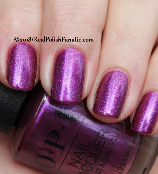OPI - Berry Fairy Fun -- Holiday 2018 Disney's The Nutcracker and the Four Realms Collection (11)