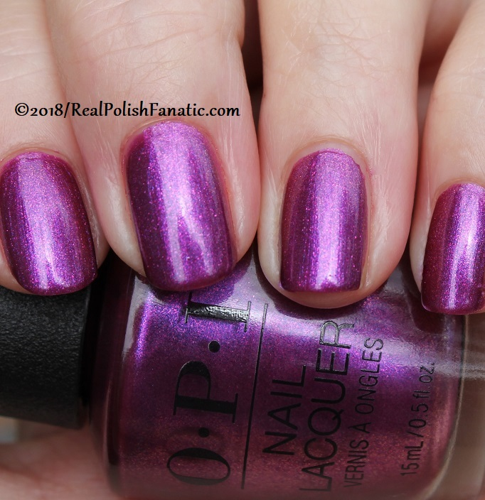 OPI - Berry Fairy Fun -- Holiday 2018 Disney's The Nutcracker and the Four Realms Collection (12)