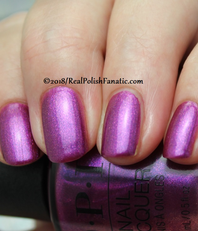 OPI - Berry Fairy Fun -- Holiday 2018 Disney's The Nutcracker and the Four Realms Collection (2)